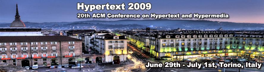 Hypertext 2009